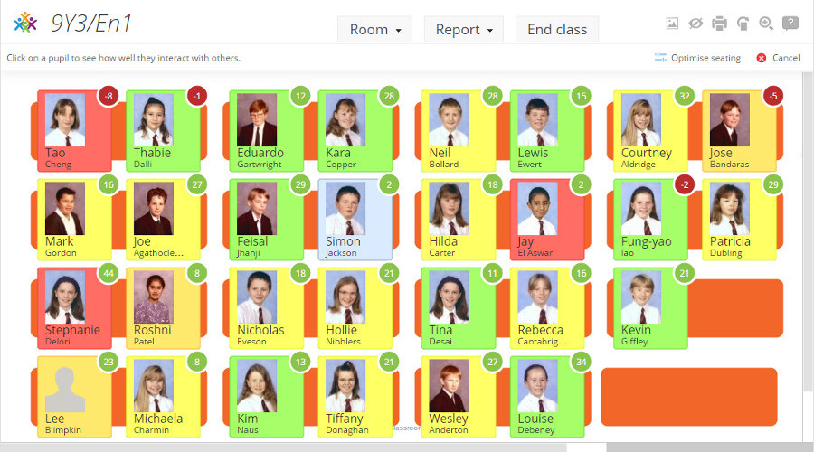Classroom Behavior Management Software: Seating Plans & Analytics